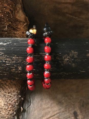 Chili red beloved bracelet