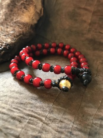 Chili red beloved bracelet