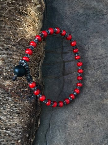 Chili pepper red bracelet