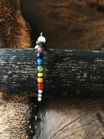 Rainbow & chakra bracelet