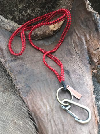 Chili pepper red keycord