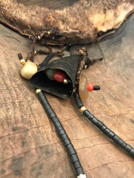 shorr Talisman goathorn necklace